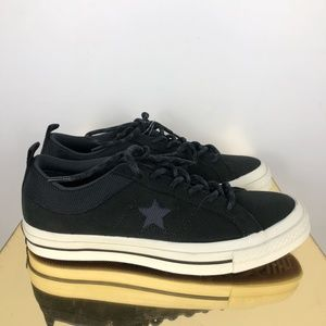 Converse Womens 8 Sneakers One Star OX Black